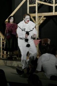 Christopher Anderson-West as Canio in Pagliacci - Washington DC.