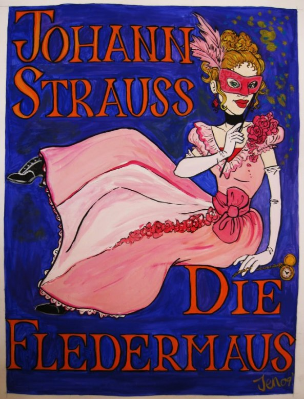 Die Fledermaus Artwork 2009